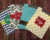 Personalized 2-sided clipboard, Monogrammed Clipboards, Coach Clipboard, Custom Clipboards, Logo Clipboards,  Teacher Gifts