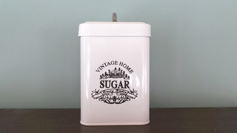 vintage style canister sugar canister kitchen housewares vintage style canisters in the kitchen pinterest