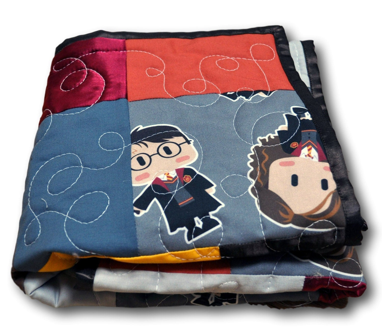 harry potter baby blanket harry potter baby quilt harry. Black Bedroom Furniture Sets. Home Design Ideas