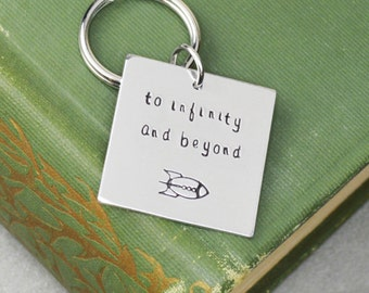 To Infinity and Beyond Keychain - Toy Story