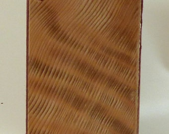 Coptic Bound Book with Redwood Cover.    (250)
