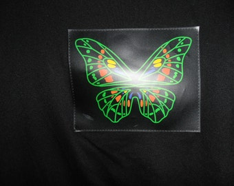 butterfly shirt lights up battery operated [4 triple a's]  sz. sm/med on small side