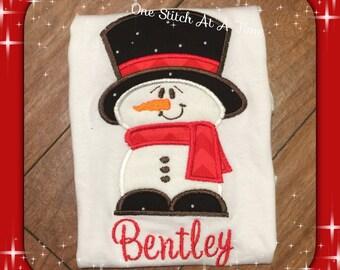 Mr Snowman Shirt