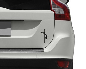 Pole Dancer Car Decal for Cars, Trucks and Motorcycles