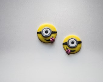 Earrings Minion