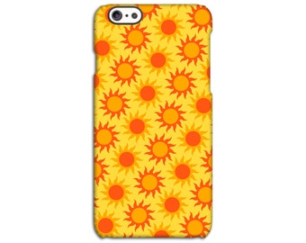 Neon Sun iPhone Case