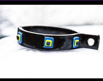 Artisan steel Fetish collar