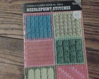 Coats & Clark's Book No. 226-A, Needlepoint Stitches