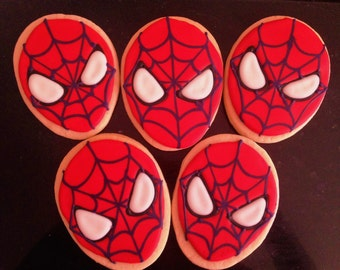 SPIDER-MAN SUGAR Cookies