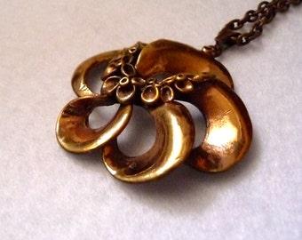 Hannu Ikonen. Pendant (Finland). Bronze.