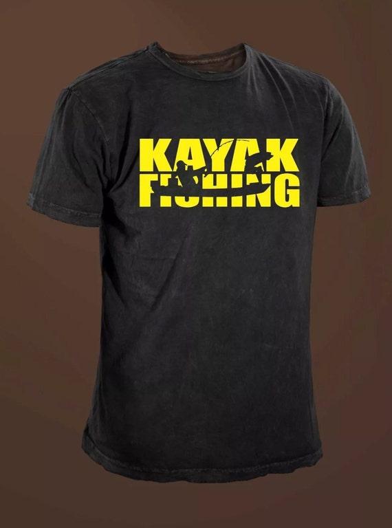 Kayak Fishing Funny T Shirt