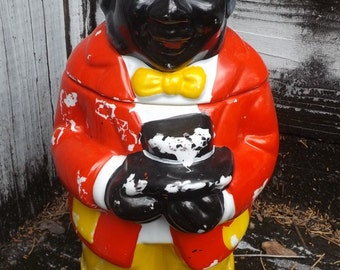 Vintage Black Americana Cookie Jar