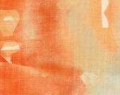 Five Senses Orange ~ nani IRO 2016 Fabric ~ Cotton Double Gauze ~ Japanese Fabric ~ Kokka Fabric ~ Naomi Ito ~ Quilt Fabric ~ Apparel Fabric