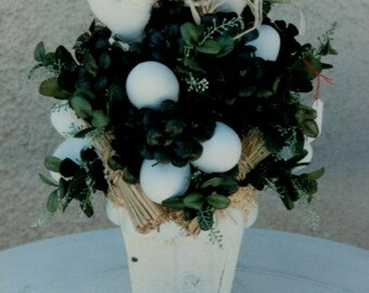 Easter Pot filled with Eggs