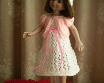 """Hand Knitted 14"""" Dolls clothes"""