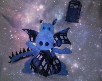 Dr. Who Tardis Police Box Dragon