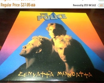 Save 70% Today Vintage 1980 Vinyl LP Record Zenyatta Mondatta The Police Excellent Condition 1289