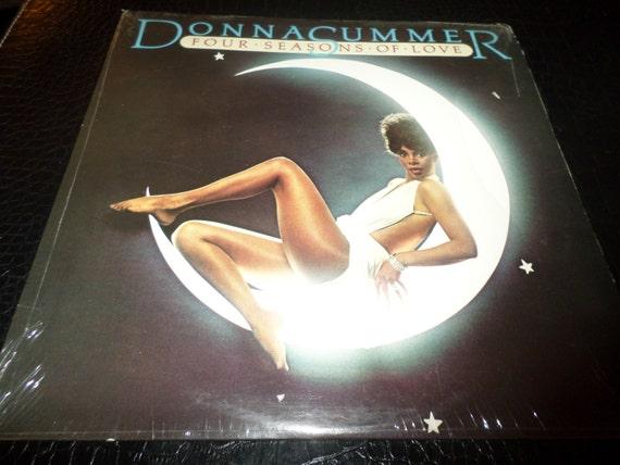 Vintage 1976 Vinyl Lp Record Donna Summer Four Seasons Of Love