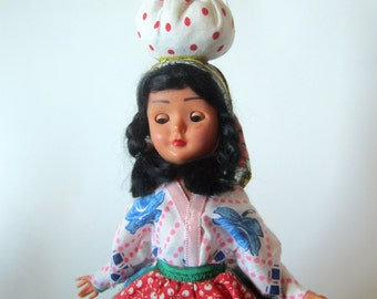 Vintage Spanish Ethnic doll