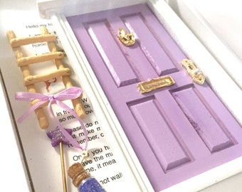 Fairy Door Tooth Fairy Door Magical Fairy Door Fairy Garden Lavender & Fairy Door Tooth Fairy Door Magical Fairy Door Fairy pezcame.com