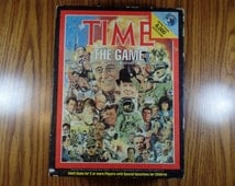 1983 Time Life Trivia Board Game Vintage Trivia Old Trivia Vintage History Game Old Board Game Role Playing Game Vintage Time LIfe