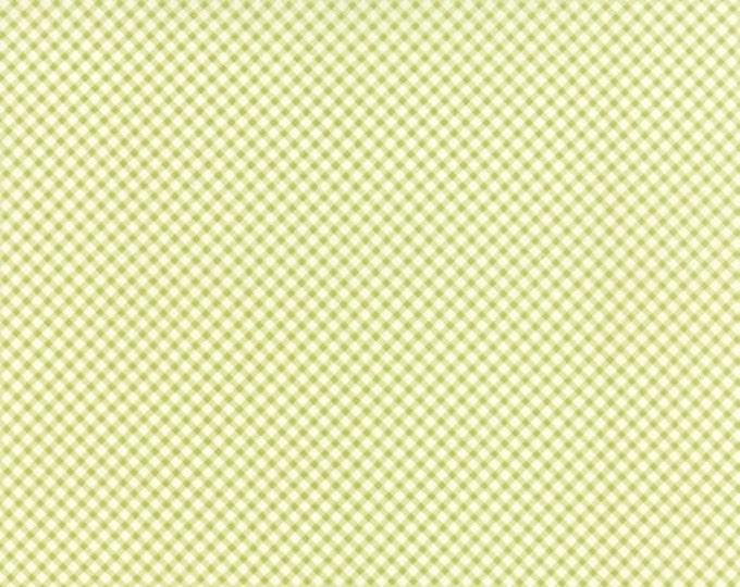 Bespoke Blooms Gingham Light Green - 1/2yd