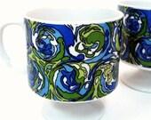 Deux magnifiques tasses a...