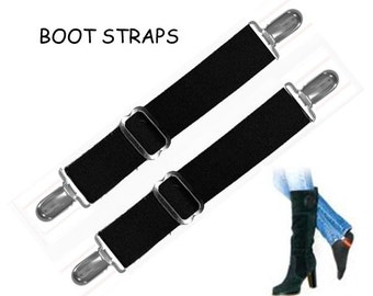 BOOT STRAPS - Available in 2 Sizes for Better Fit - Adjustable