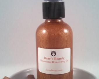 Shimmering Bronze Body Oil