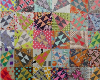 A Wild Ride Quilt Pattern - Jen Kingwell Designs - JKD 5224 - Scrappy