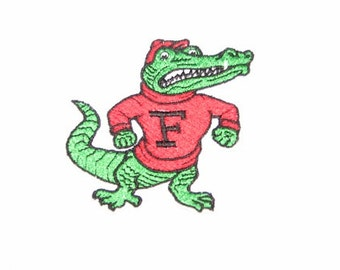 Florida Gators College Football Team Iron on No Sew Embroidered Patch Applique