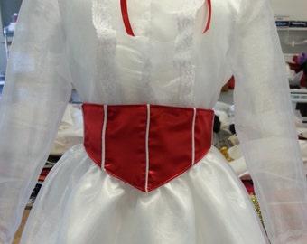 Adult Mary Poppins Jolly Holiday Dress