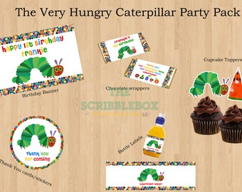 The Very Hungry Caterpiller Party Printables Pack