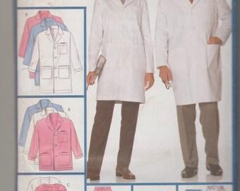 Butterick Used Sewing Pattern 5287 Professional Uniform Basics XSm-Sm-Med