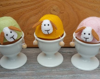 Bungel schaapjes eierwarmer - DIY kit