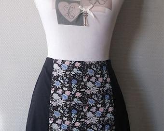 """Skirt """"Blue spring"""""""
