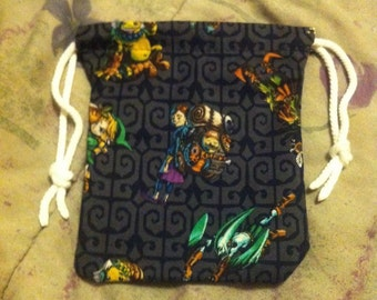 Legend of Zelda: Majora's Mask Drawstring Bag