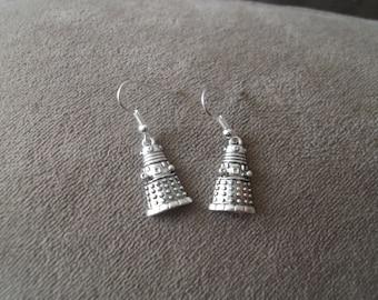 "Dr Who ""Dalek"" Earrings"