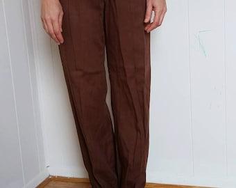 Happy Legs pants/ 1970s/ small/ boho