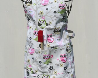 Junior Chef Sitting in a Tree Adjustable Apron