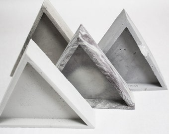 Triangle Concrete Tray