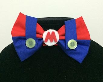 Mario Inspired Bow Tie