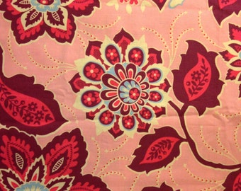 HEIRLOOM by Joel Dewberry - Fabric - Ornate Floral in Amethyst - Free Spirit - Quilting - Sewing - Home Decor - Crafting - Westminster