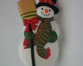 Cute Snowman Winter Holiday Pin - 4254