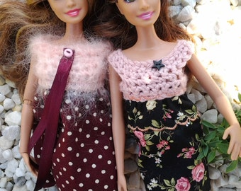 Handmade dress - clothes for your pretty Barbie doll