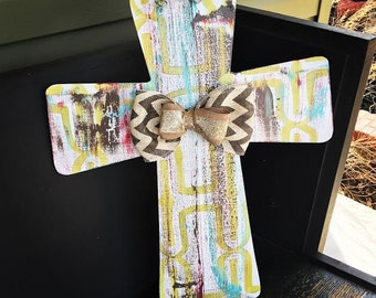 Spring/Summer Cross Doorhanger