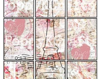 Pink Paris Pocket Letter Printable