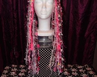 Fairy Falls,  Yarn Falls, Fairy Hair, Yarn dreads, Faire Hair