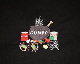 GUMBO embroidery design