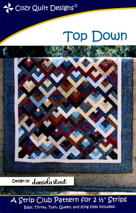 Top Down A Strip Club Pattern For 2 1 2 Strips By